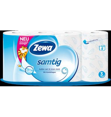 "Soft Toilettenpapier ""Samtig"" 3-lagig 24 Rollen"