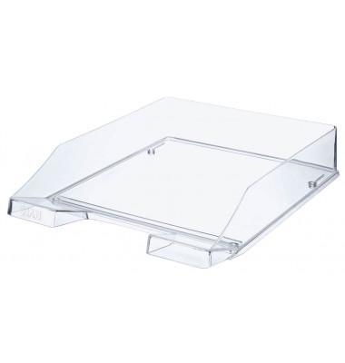 Briefablage 1024 A4 / C4 klar-transparent stapelbar 2 Stück