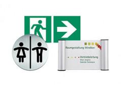 Schilder / Hinweise