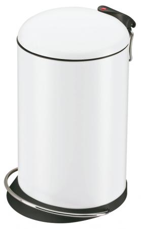 Hailo Tretabfalleimer Trento TopDesign 16 Liter weiß
