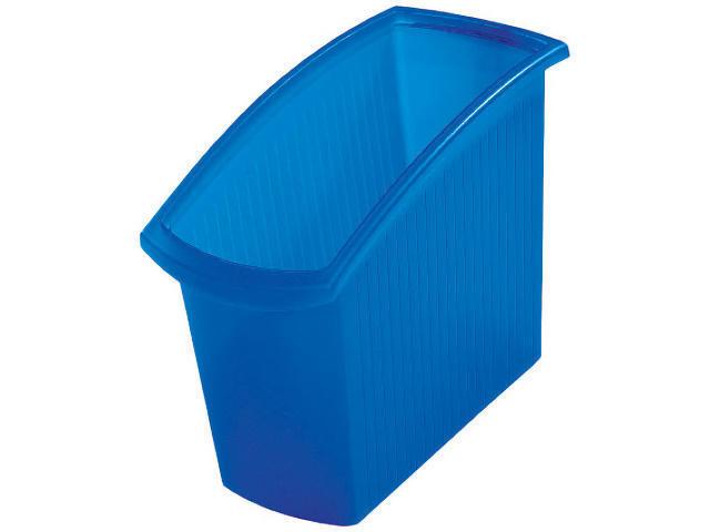 Han Papierkorb Mondo 18 Liter blau-transluzent