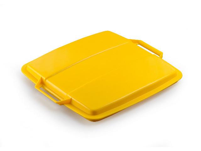 Durable Deckel gelb für DURABIN 90 Liter