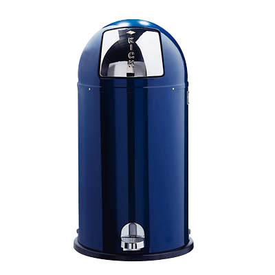 Wesco Abfallsammler Kickboy 40 Liter blau
