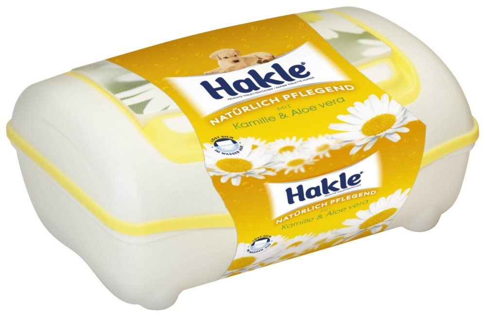Hakle feuchtes Toilettenpapier 45174 Clean Comfort Fresh Box 42 Tücher