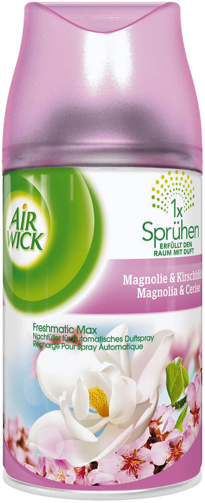 Airwick Duftspray Freshmatic Max Magnolie & Kirschblüte 250 ml