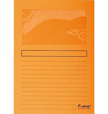 Exacompta Sichtmappen A4 orange