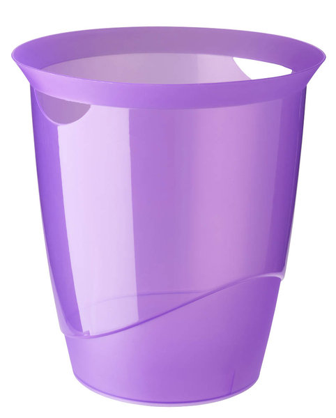 DURABLE Papierkorb TREND 16 Liter purpur transluzent