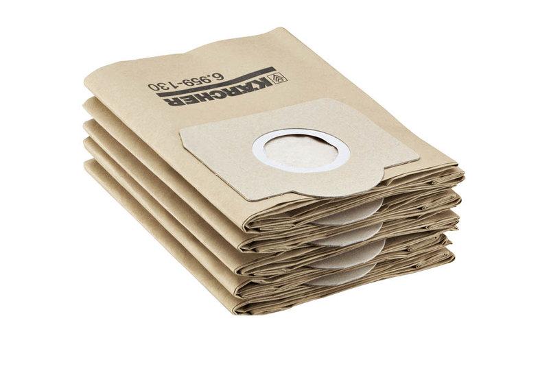 Kärcher Papierfilterbeutel für WD 3300 M/MV 3 Premium/SE4002