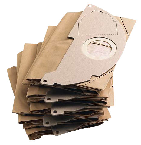 Kärcher Papierfilterbeutel für Nass-/Trockensauger WD 2200/MV2