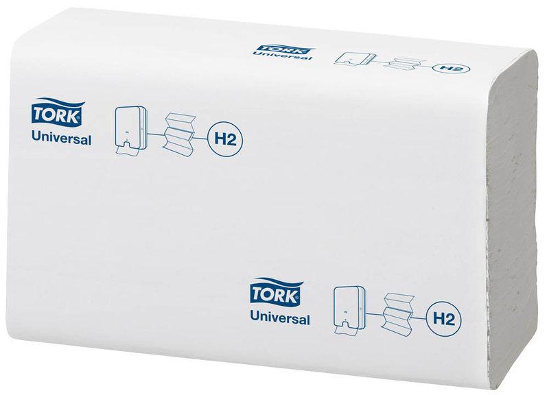 Handtücher mit Interfold-Falzung