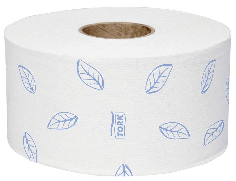 Tork Toilettenpapier Mini-Jumbo Premium Soft 110253 T2 2-lagig 12 Rollen