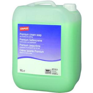 Seife, Desinfektionsmittel, Hautreiniger und Hautschutzprodukte von Staples für verschiedene Spender