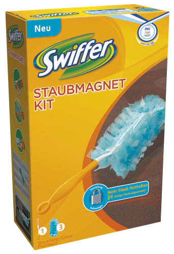Swiffer Staubwedel Duster Staubmagnet Kit