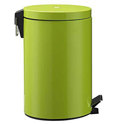 Zeller Tretabfalleimer 3 Liter grün
