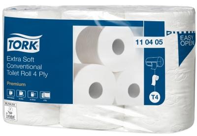Tork Toilettenpapier 110405 Premium Extra soft, T4, 42 Rollen