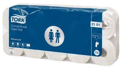 Tork Toilettenpapier 2101 Advanced, T4, 60 Rollen