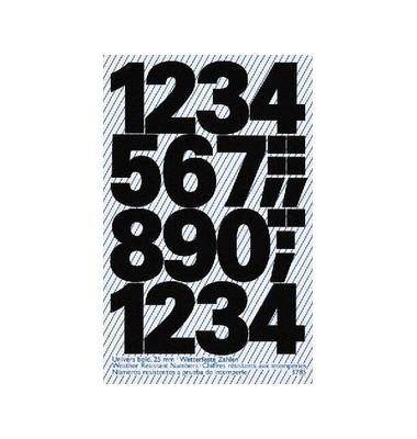 Etiketten mit Zahlen