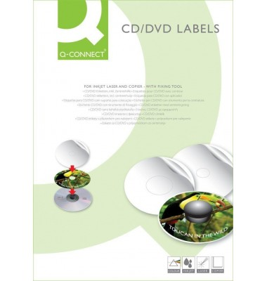Etiketten und Aufkleber für CDs & DVDs