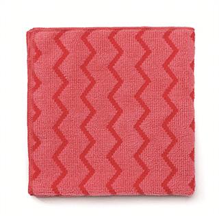 Rubbermaid Universal-Reinigungstuch Mikrofaser Profi-Qualität rot