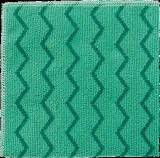 Rubbermaid Universal-Reinigungstuch Mikrofaser Profi-Qualität grün