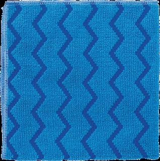 Rubbermaid Universal-Reinigungstuch Mikrofaser Profi-Qualität blau