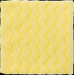 Rubbermaid Universal-Reinigungstuch Mikrofaser Profi-Qualität gelb