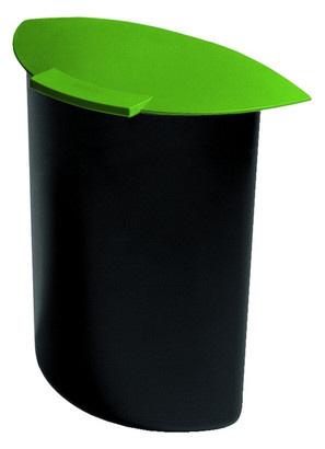 g: Abfalleinsatz MOON 6 Liter mit Deckel für 1834