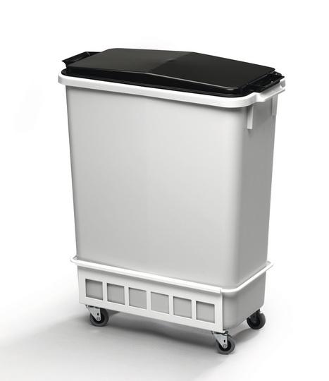 Durable Fahrwagen TROLLEY weiß für DURABIN 60 Liter