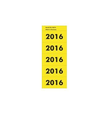 Etiketten mit Aufdruck '2016'