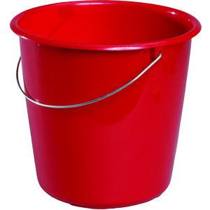 Meiko Eimer 10 Liter rot Metallbügel