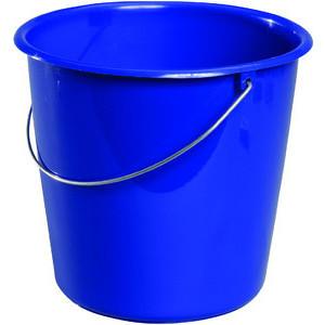Meiko Eimer 5 Liter blau Kunststoff mit Metallbügel