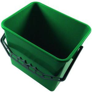 Meiko Eimer 6 Liter grün Kunststoffbügel