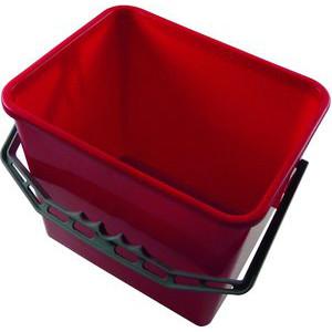 Meiko Eimer 9 Liter rot Kunststoffbügel