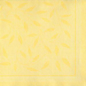 Papstar Servietten Royal Collection Mediterran gelb 40x40cm