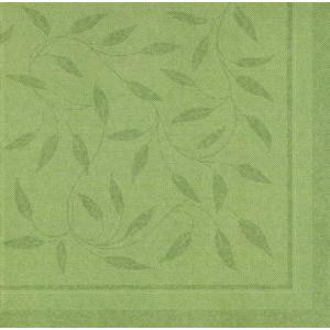 Papstar Servietten Royal Collection Mediterran olivgrün 40x40cm