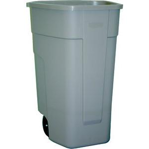 Rubbermaid Mobiler Rollcontainer 100 Liter beige