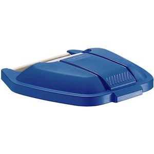 Rubbermaid Deckel für Mobiler Rollcontainer 12901 blau