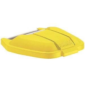 Rubbermaid Deckel für Mobiler Rollcontainer 12901 gelb