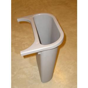 Rubbermaid Abfalleinsatz 4,5 Liter grau