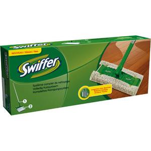 Swiffer Wischmopp Starterset 1 Bodenstab 2 Tücher