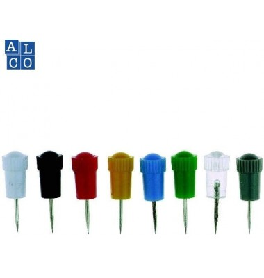 Alco Stoßnadeln mit Plastikschaft sortiert 7,5mm