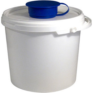 Temca Temdex Eimer für Spezialwischtücher 5,7 Liter 4 Stück