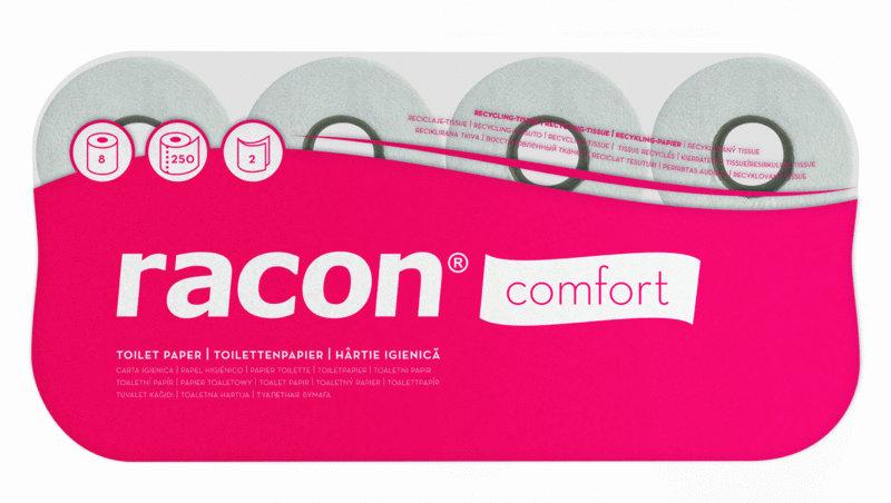 Kleinrollen-Toilettenpapier von Temca