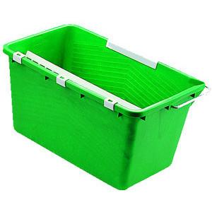 Unger Eimer 18 Liter grün Ausgießer/Sieb/Einhängebügel