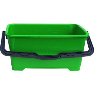 Unger Fensterreinigungseimer 28 Liter grün Ausgießer/Skala/Kunststoffbügel
