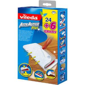 Vileda Staubtücher/Bodentücher AttrActive Plus