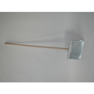 Staples Schneeschieber Holzstiel 40 cm verzinkt