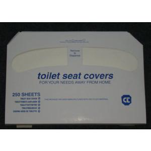 Staples Toilettensitzauflagen 1386552, 250 Stück