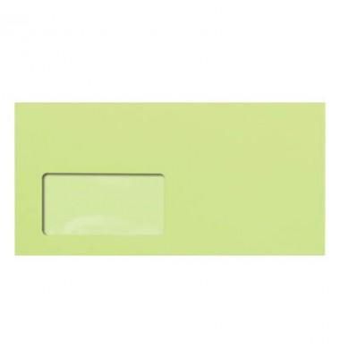Briefumschlag leuchtgrün DIN lang plus