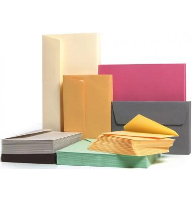farbige Briefumschläge DIN lang